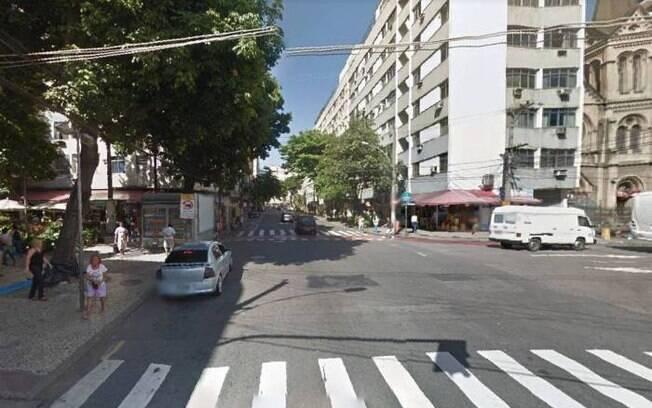Guarda municipal foi atropelado na Rua Santo Afonso, enquanto aplicava multa