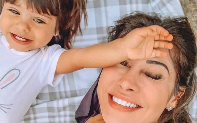 Mayra Cardi fala de problema de saúde fa filha