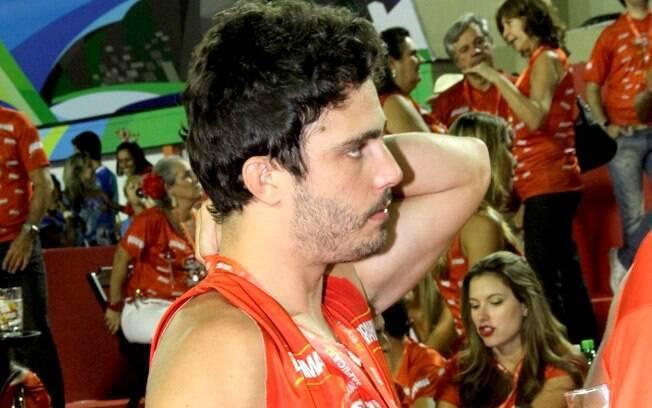 Thiago Rodrigues na noite em que brigou com a mulher, Christiane Dias