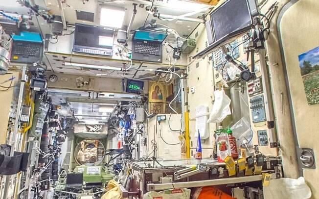 Recurso do Google mostra interior da estação espacial