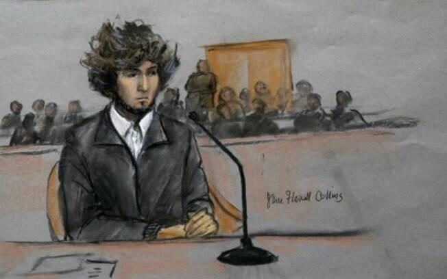 Acusado de promover ataque que matou três pessoas na maratona de Boston, Dzhokhar Tsarnaev pode ser condenado à morte