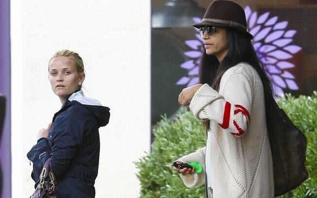 Reese Witherspoon e Camila Alves: de volta a Los Angeles