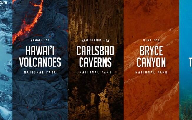 Com 5 parques, você tem a oportunidade de aprender e desfrutar do parque e explorar ambientes com descrição em áudio, contando a história do lugar.