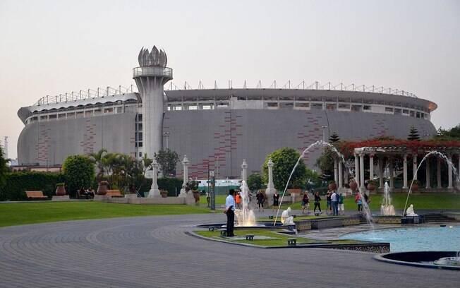 Estádio Nacional de Lima, no Peru, palco da Cerimônia de Abertura dos Jogos Pan-Americanos