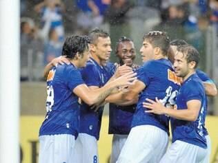 Destaque. A equipe celeste tem o ataque mais forte do Campeonato Brasileiro, com 29 gols marcados em 13 partidas disputadas