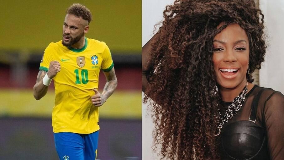 Lumena e Neymar trocam farpas nas redes sociais
