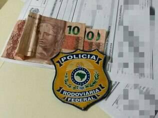 Notas de R$ 10 foram apreendidas