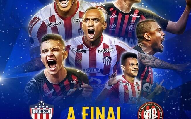 Atlético-PR e Junior Barranquilla empatam no primeiro jogo da final da Sul-Americana