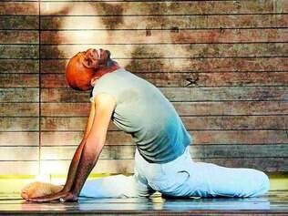 Dedicação. O bailarino e coreógrafo Rui Moreira se dedica à pesquisa e criação desde 1979