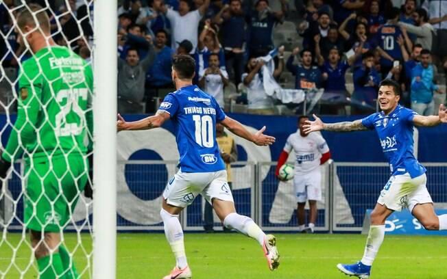 Cruzeiro eliminou o Fluminense na Copa do Brasil