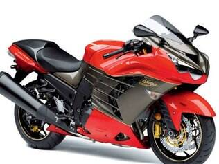 Nova Ninja ZX-14R Limited Edition com 300 exemplares exclusivos