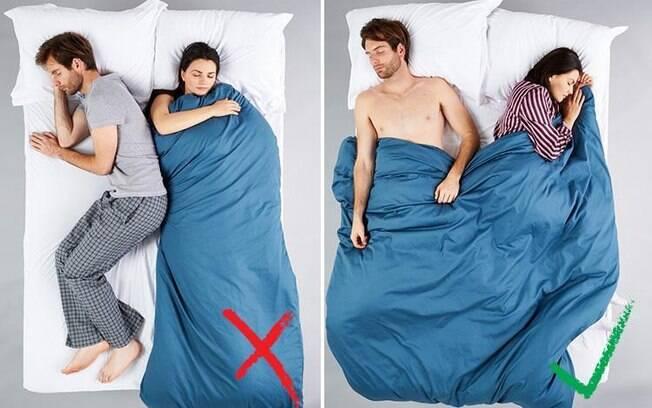 A decisão de se cobrir ou não deve ser tomada pelo casal