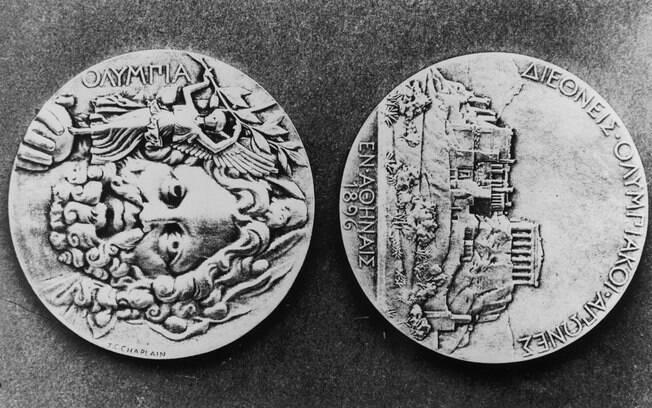 As medalhas olímpicas de 1896. Valem quanto?