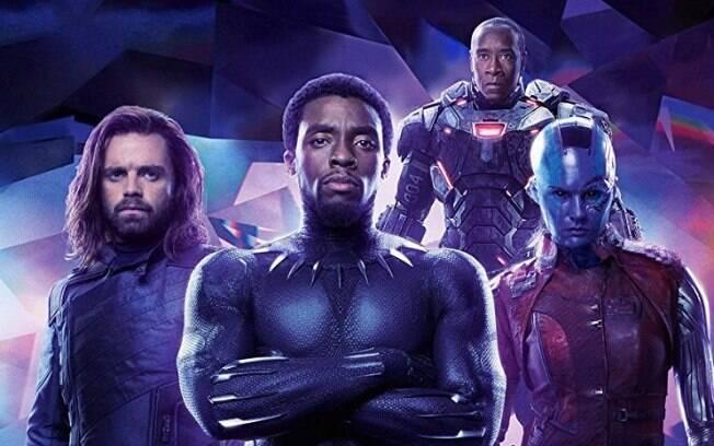 Bucky Barnes, pantera Negra, Máquina de Guerra e Nebula