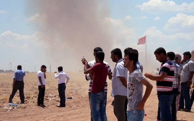 Dois dias de ataques do Estado Islâmico em Kobane, na Síria, deixaram mais de 200 mortos (Arquivo)