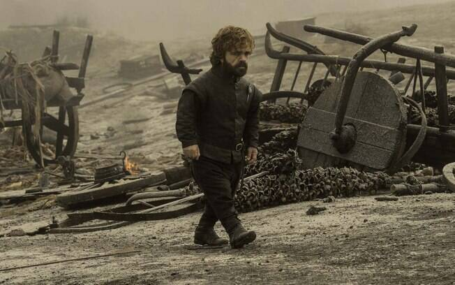 Peter Dinklage (Tyrion Lannister) na série