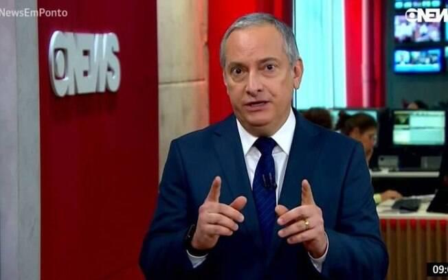 José Roberto Burnier, jornalista da GloboNews, se desculpou após piada com corintianos