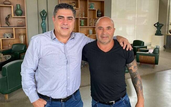 Jorge Sampaoli no Galo