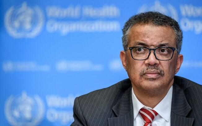 Os EUA afirmam que o diretor geral da OMS, Dr. Tedros Adhanom Ghebreyesus, não estava disposto a confrontar os chineses no início do surto