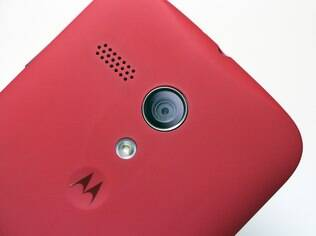 Câmera do Moto G tem 5 megapixels
