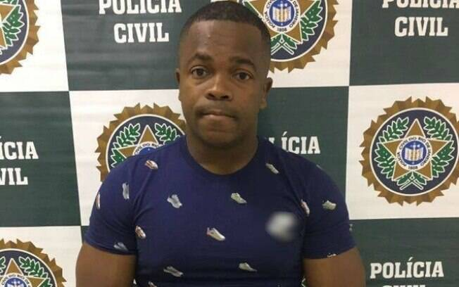 Badinho, ex-jogador do Botafogo que foi preso no Rio