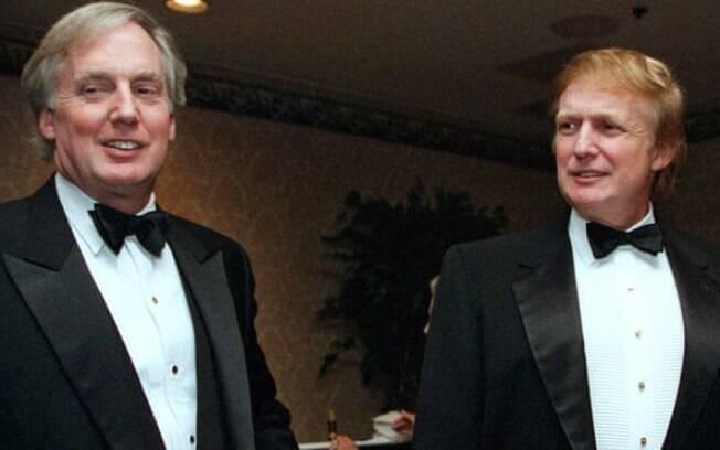 Robert e Donald Trump em 1999
