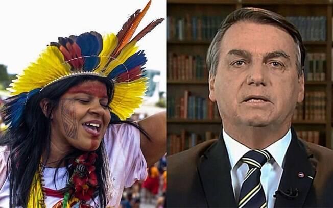 Mulheres indígenas criticam a fala de Bolsonaro na ONU