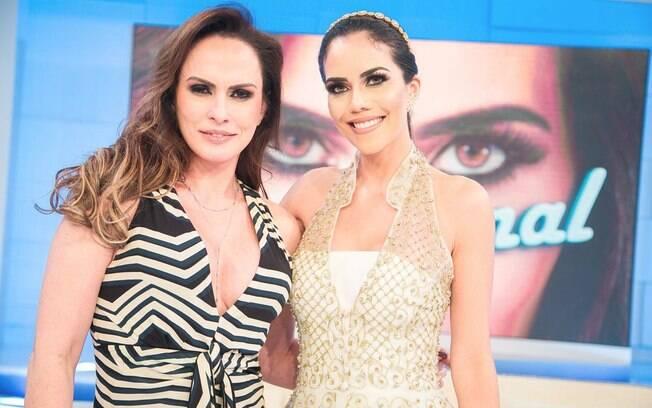 Núbia Oliiver e Daniela Albuquerque