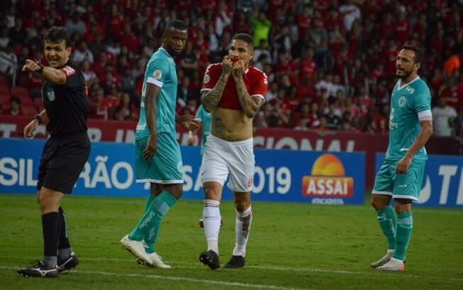 Goiás venceu o Inter dentro do Beira-Rio