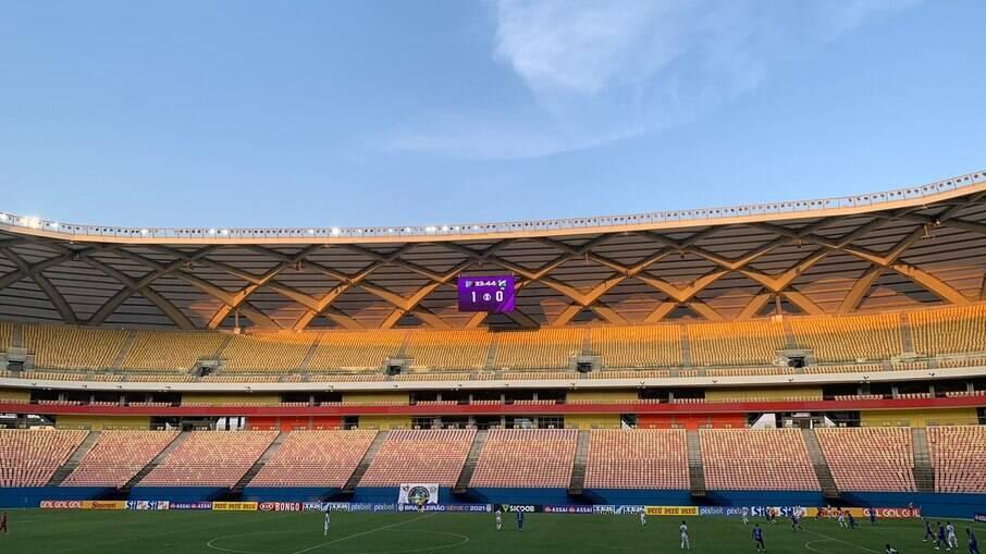 Arena Amazônia será palco de jogo das eliminatórias para a Copa do Mundo de 2022