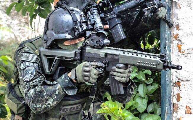 Policial Militar do COE - Comandos e Operações Especiais