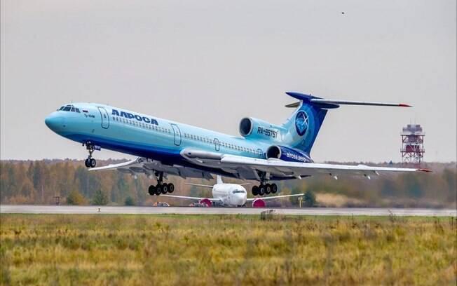 Fim de uma era: Tupolev TU-154 realiza último voo comercial na Rússia