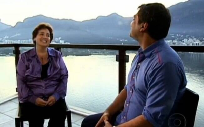 Claudia Jimenez em entrevista ao