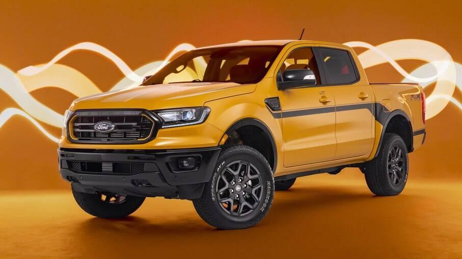 Pacote Splash está disponível em todas as versões da Ford Ranger, com exceção da Raptor