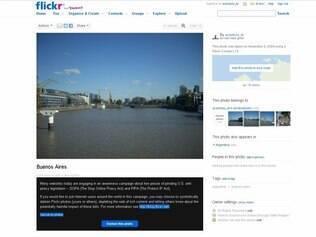 Flickr permite que usuários escureçam fotos para protestar contra a SOPA