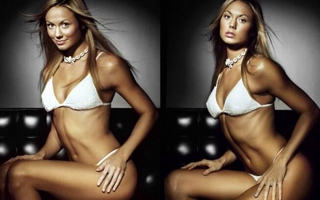 Stacy Keibler é lutadora e modelo