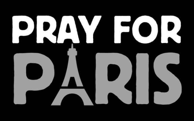 Hashtag em apoio às vítimas dos atentados na capital francesa começa a se difundir pelas redes sociais. Foto: Reprodução Twitter