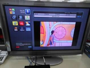 Sticker Center, loja de aplicativos do Astro TV, ainda tem poucas opções