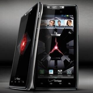 Nos Estados Unidos, Motorola Razr é vendido pela operadora Verizon