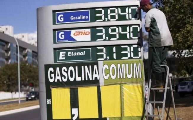 Valores dos combustíveis foram alterados após o aumento do imposto sobre gasolina, etanol e diesel