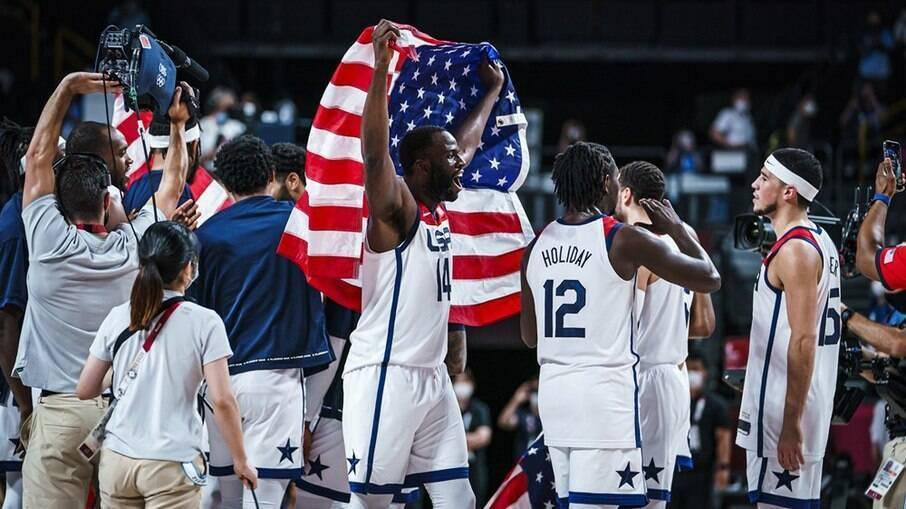EUA conquistam a medalha de ouro no basquete masculino