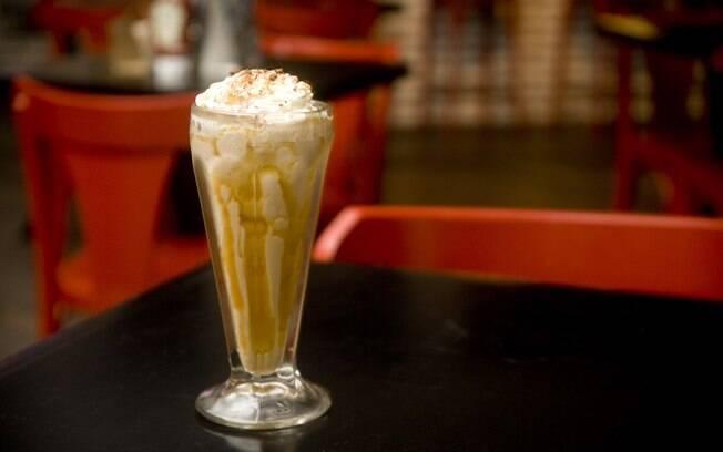 Foto da receita Milk shake de cerveja pronta.