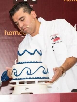 Buddy, o Cake Boss, no Brasil
