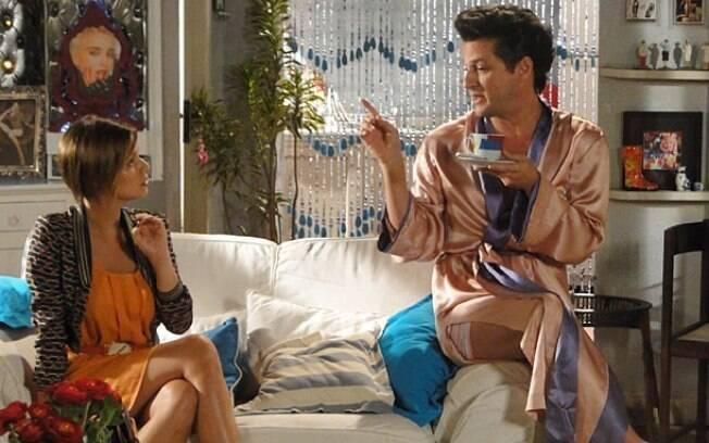 Vanessa (Milena Toscano) fica chocada com as revelações do tio