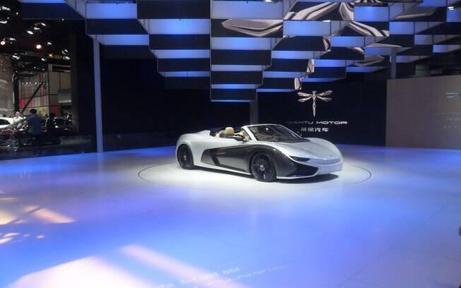 Protótipo de esportivo do Salão de Pequim, em 2016, quando a reportagem do iG Carros cobriu o evento
