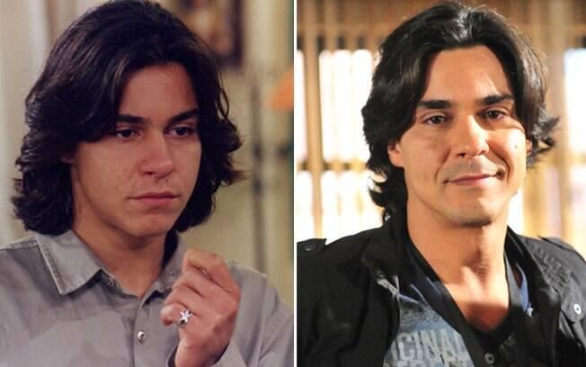 André Gonçalves marcou época em 1995 como o estudante gay Sandrinho. Em 2012, atua em