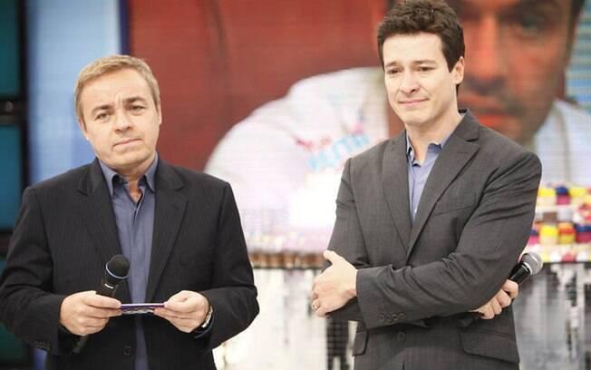 Gugu e Rodrigo Faro