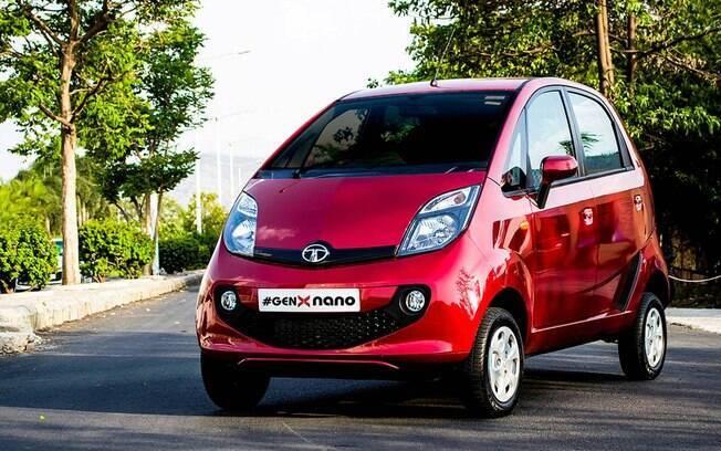 Tata Nano: versão atual do carro mais barato do mundo, que foi produzido por 10 anos e sai de linha