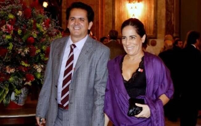 Orlando Moraes e Glória Pires