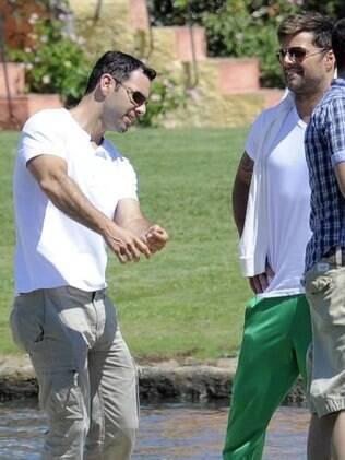Ricky Martin e seu namorado Carlos González: casamento marcado